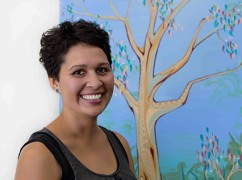 Safina Stewart, contemporary Aboriginal artist and teacher and winner of the 2011 Victorian Eastern Region NAIDOC Art Award produces acrylic paintings that are vibrant in colour and fluid in the line work. Click here to visit Safina Stewart's website.